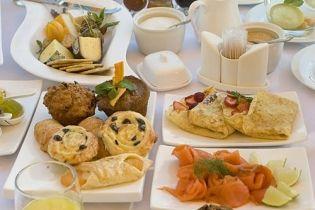Breakfast is a feast!