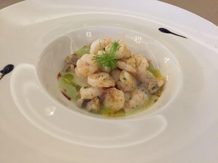 Stewed Clams and Shrimps...Guazzetto di Vongole veraci e Gamberetti
