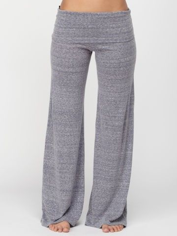 Quiksilver Slub Yoga Pants-Slate Blue Heather | I would never take these off!