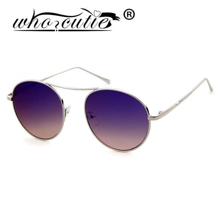 Encontrar Más Gafas de sol Información acerca de WHOCUTIE Retro Gafas de Sol Mujeres Hombres Diseñador de la Marca Gafas de Sol Para Las Mujeres de Aleación de Espejo gafas de Sol gafas de sol Ray Femenina, alta calidad Gafas de sol de WHO CUTIE Glasses- Store en Aliexpress.com