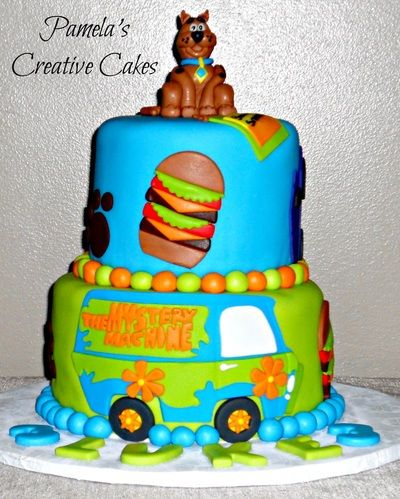 26 best Scooby doo cake images on Pinterest Scooby doo cake