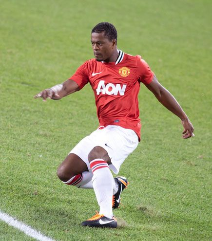 Patrice Evra (man utd) ~ so delicious.
