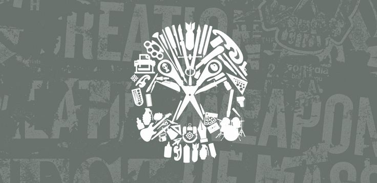 Weapons of Mass Creation Fest Vector Skull Icons Pack by Brandon Rike available on Go Media's Arsenal: http://arsenal.gomedia.us/shop/vectors/weaponsofmasscreationskullicons/