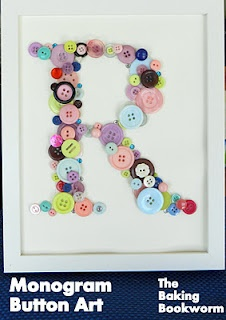 Imagine the possibilities!: Button Art, Stuff, Button Crafts, Buttons, Monograms, Craft Ideas, Monogram Button, Crafty Ideas