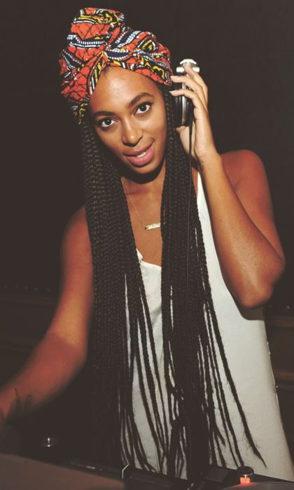 I'll be so happy when my hair gets as long as Solange's box braids