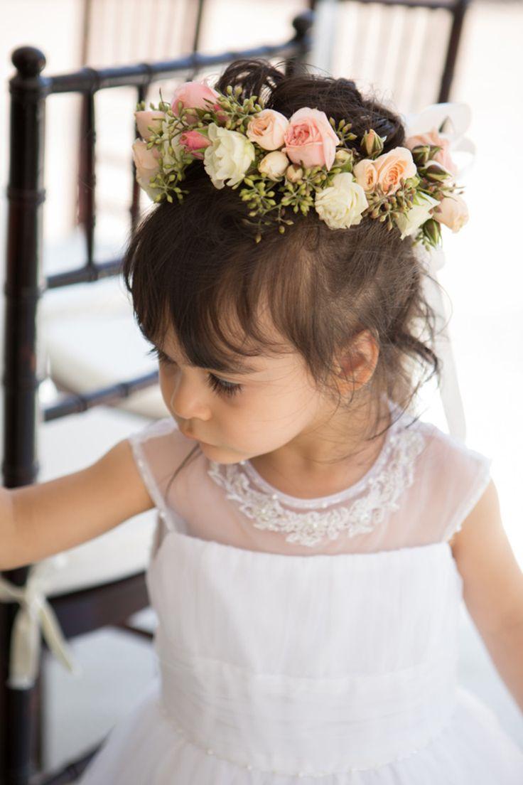 120 best fresh flower crown images on pinterest flowers in fresh flowers for the flower girls hair izmirmasajfo Gallery