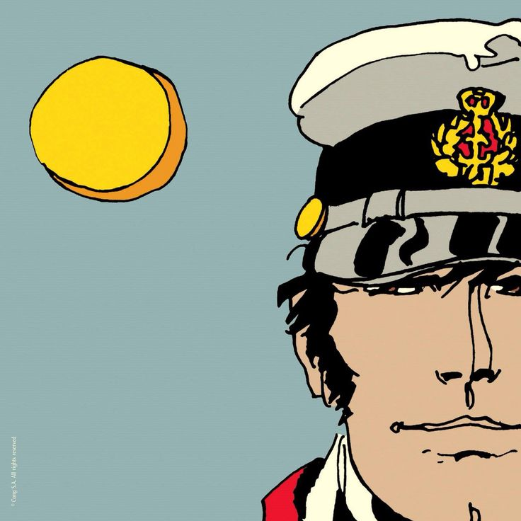Corto Maltese the tow full moons