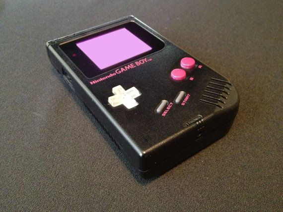 Custom Game Boy Modified Nintendo DMG Gameboy by modernnostalgic, $100.00 /// www.art-by-ken.com