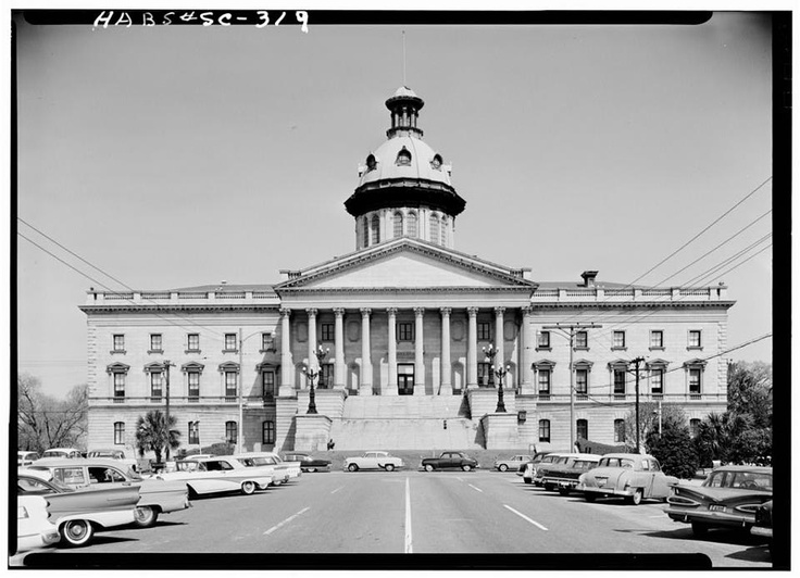 COLUMBIA SC STATE HOUSE I Love This WE DON 39 T BECOME SOUTHERN WE
