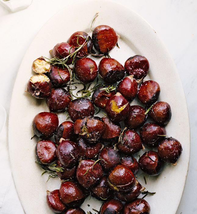 ++ Buttery Roasted Chestnuts #glutenfree