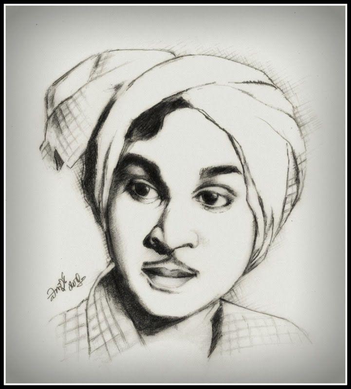 My tribute to the legendary actor A.Nageswara Rao on the occasion of his birth anniversary today (My pencil drawing).  అక్కినేని జన్మదినం నేడు. ఆ మహానటునికి నా పెన్సిల్ చిత్రం ద్వారా ఘన నివాళి.