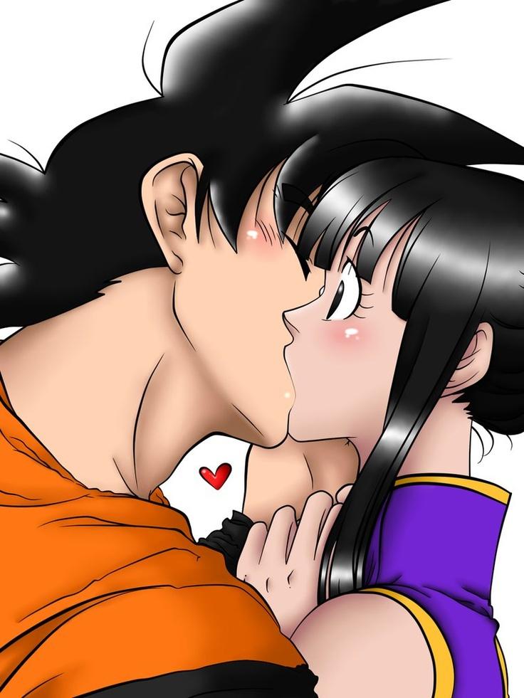 Goku and Chichi 2 by ~rossanamarcia on deviantART