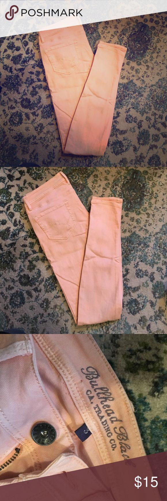 Peach Jeans Super cute jeans! Bullhead Jeans