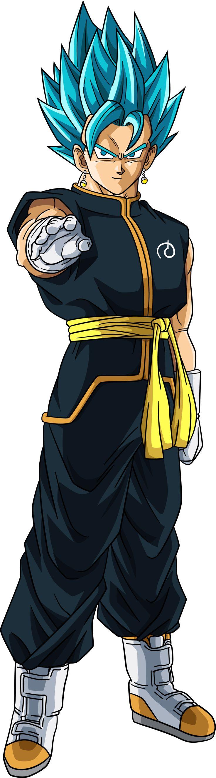 Vegito Fukatsu No F (Super Saiyan Blue) by RighteousAJ on DeviantArt