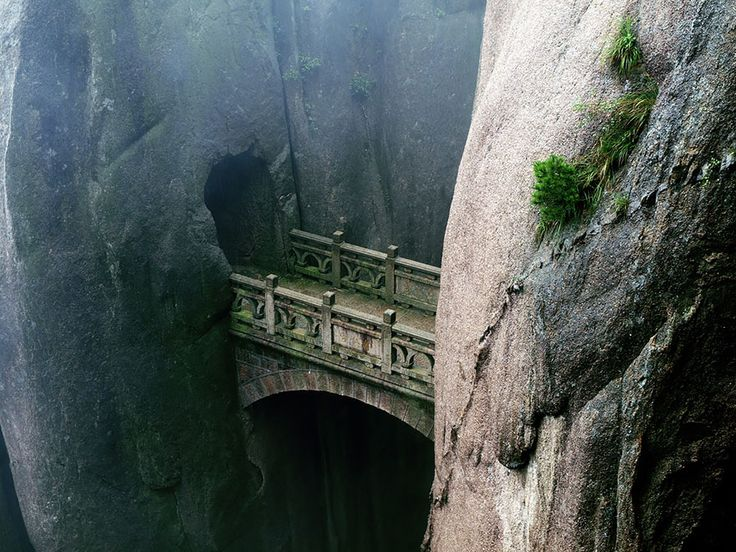 20 Mystical Bridges That Will Take You To Another World  Huangshan, Anhui, China