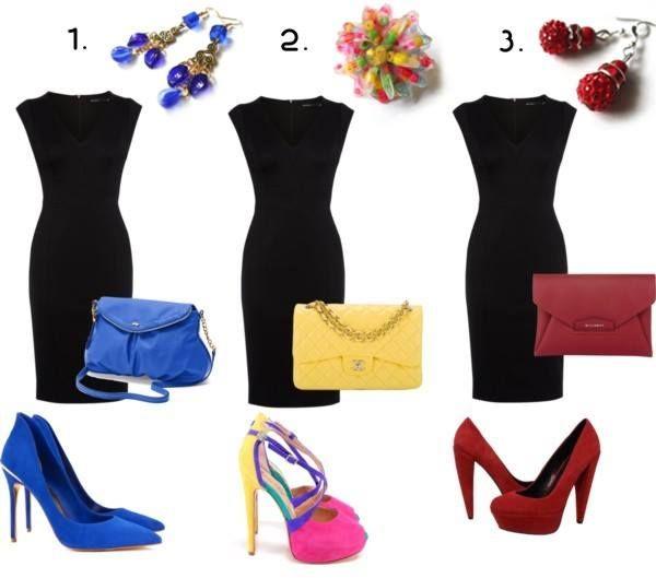 """""""Malé čierne"""" sú univerzálnym kúskom, ktorý by mala vlastniť každá žena. Môžete ich skombinovať napríklad aj takto, s našimi šperkami z www.sperkysan.sk. Ktorý outfit by ste si vybrali?"""