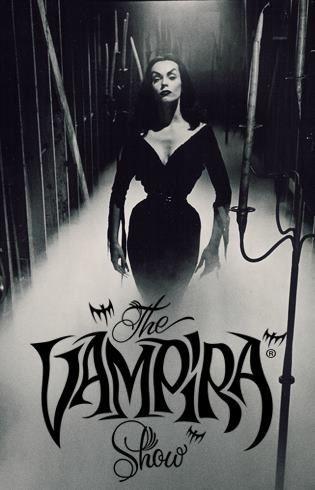 The Vampira Show, starring Maila Nurmi, ran fro 1954-1955.
