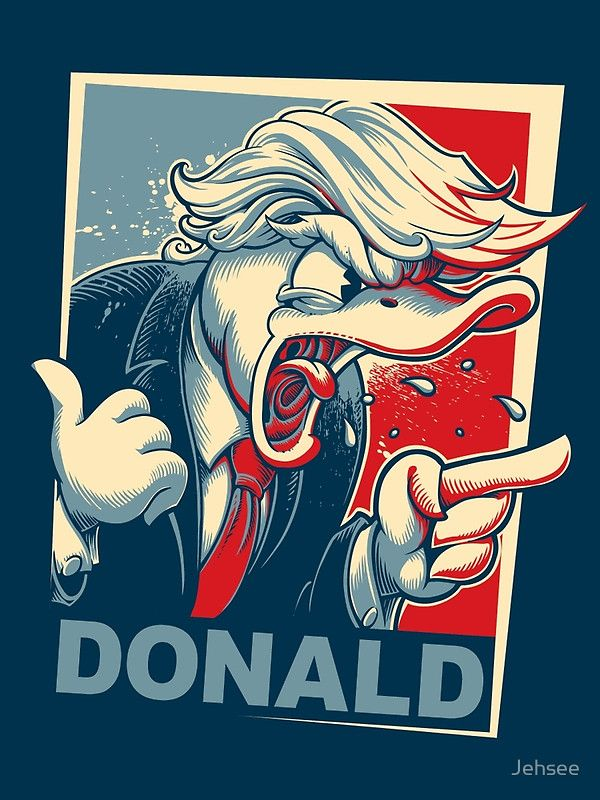 """Donald"" Poster von Jehsee 