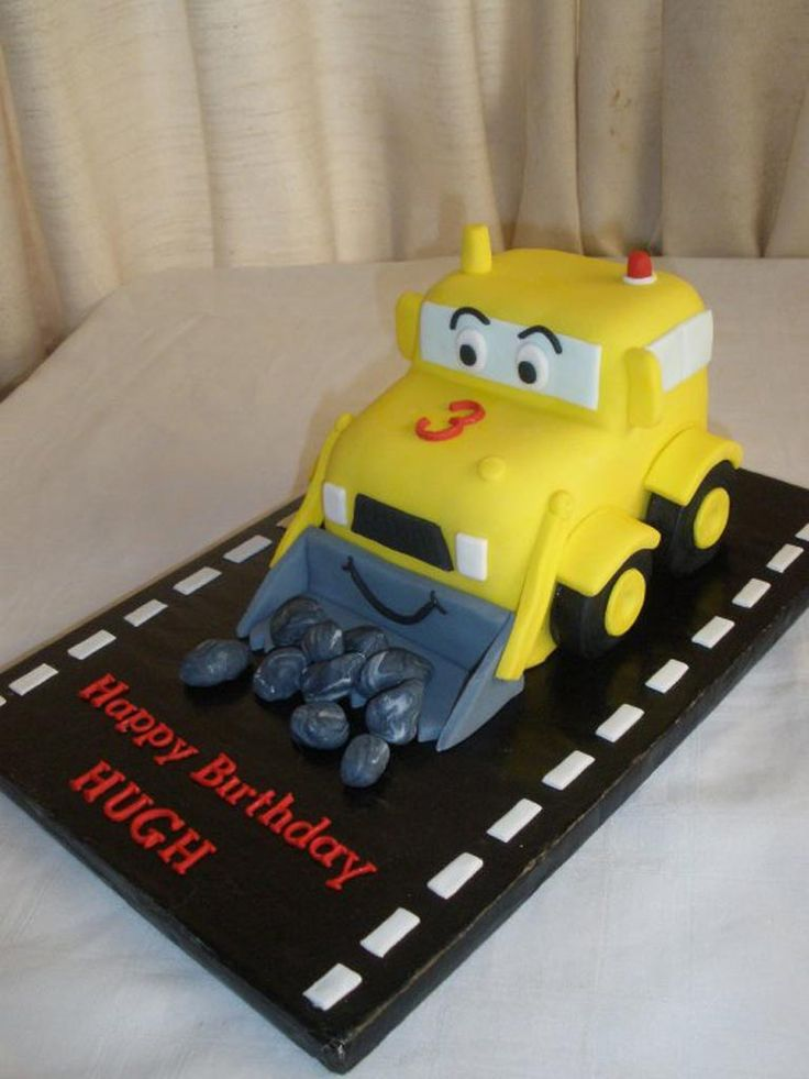 12 Best Images About Digger Cakes On Pinterest Cars