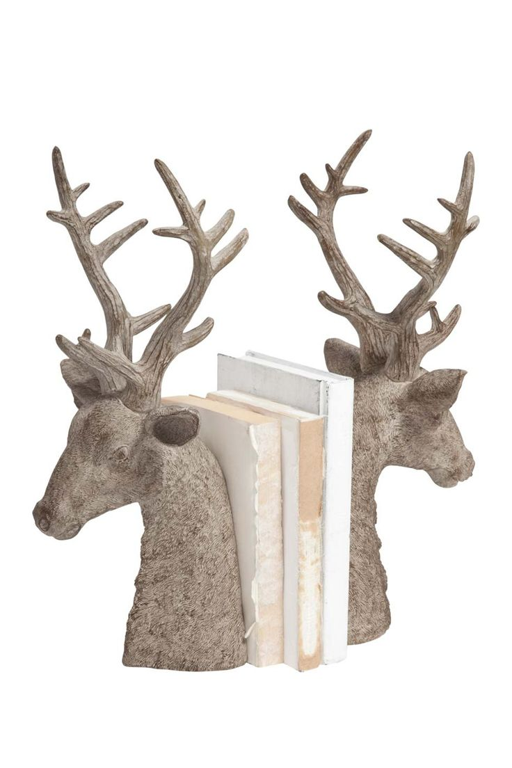 233 best images about i heart antlers on pinterest horns a deer and reindeer - Deer antler bookends ...