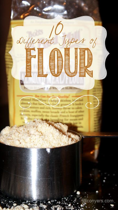 Flour 101: 10 Different Types of Flour
