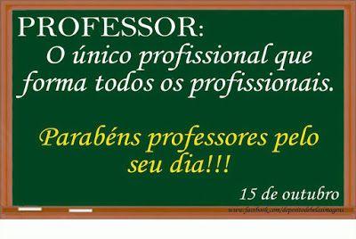 Café e Pérolas : Ao Professores em 15/10/2015