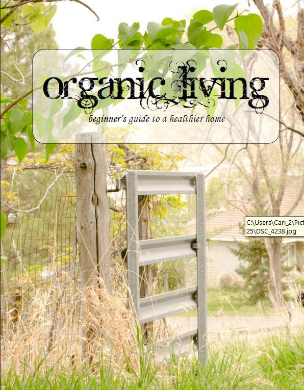 Organic Living Guide & Tips! One woman a guide with the information she discovered when going organic! Useful resource for anyone