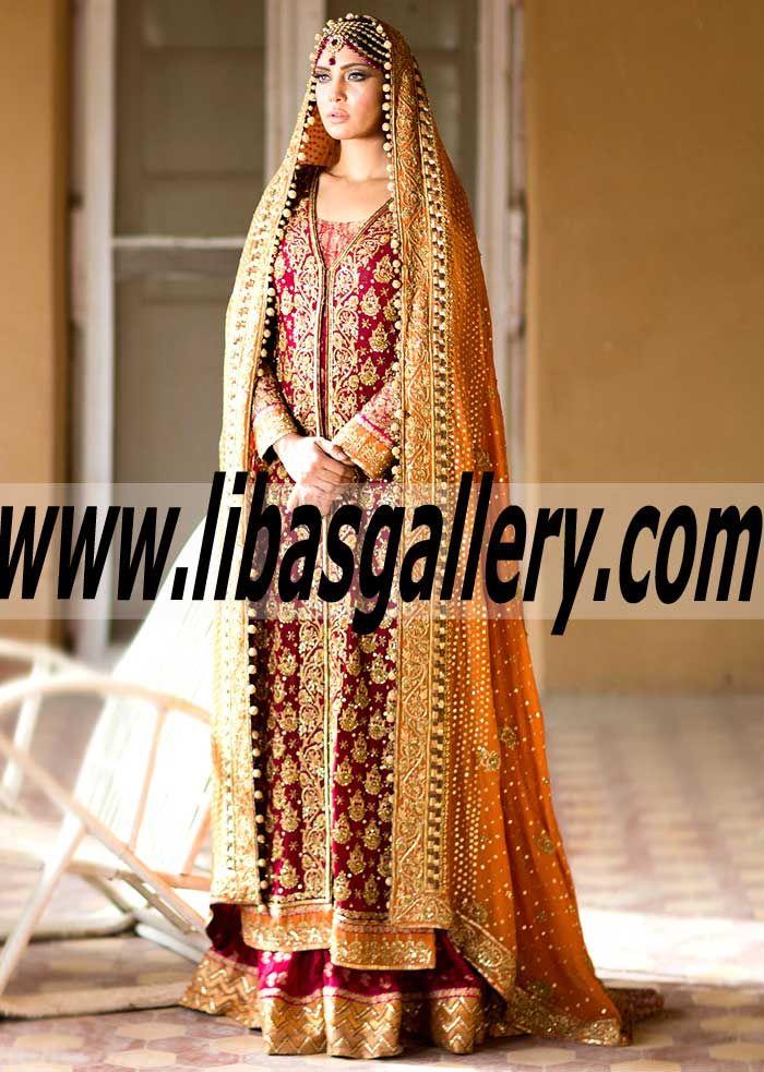 Umsha by Uzma Babar Women Fashion Clothing Asian Designer Bridal Dresses Collection Lehenga Gharara Sharara Anarkali Online Clothing Boutique in UK USA Canada India Australia