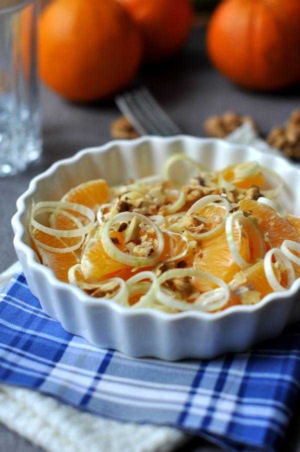 Póréhagymás narancssaláta | Laktózérzékenység, laktózintolerancia, tejcukor érzékenység, tejallergia