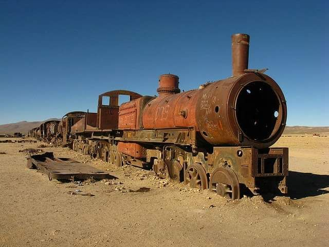 Rusted Steam Engine