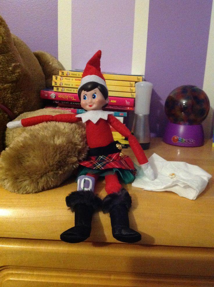 22 décembre: Comme Amélie a perdu une dent hier soir, Flocon en profite pour rencontrer la fée des dents!