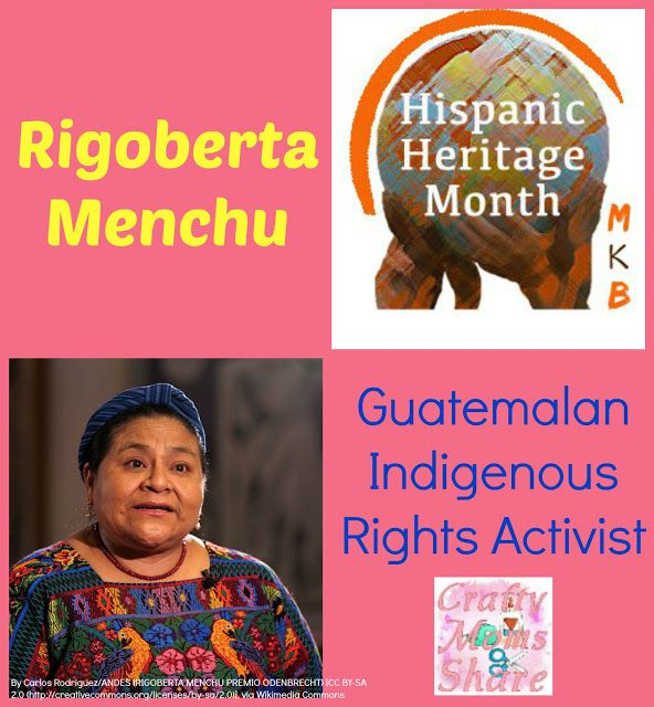 Crafty Moms Share: Rigoberta Menchu