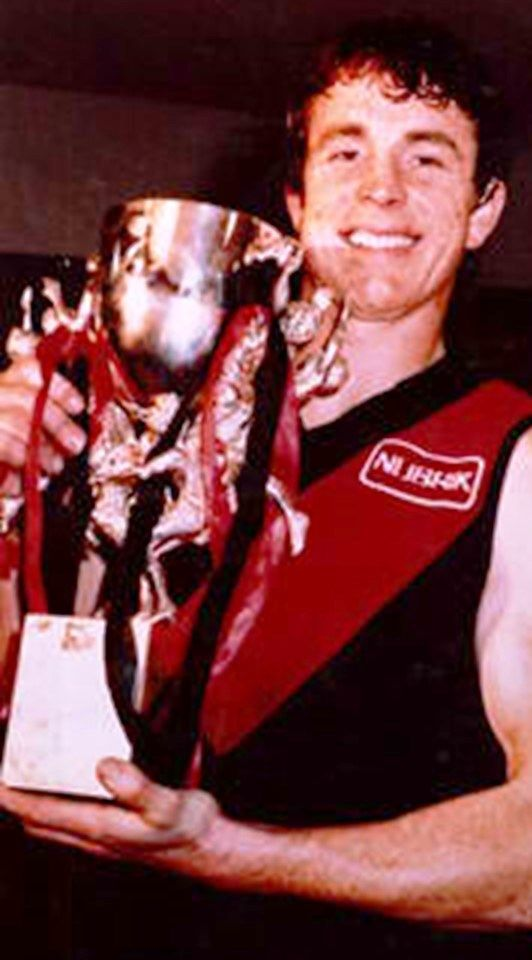 Terry Daniher. Played 1976-1992. Games South Melbourne 19, Essendon 294. Premierships Essendon 1984, 1985.