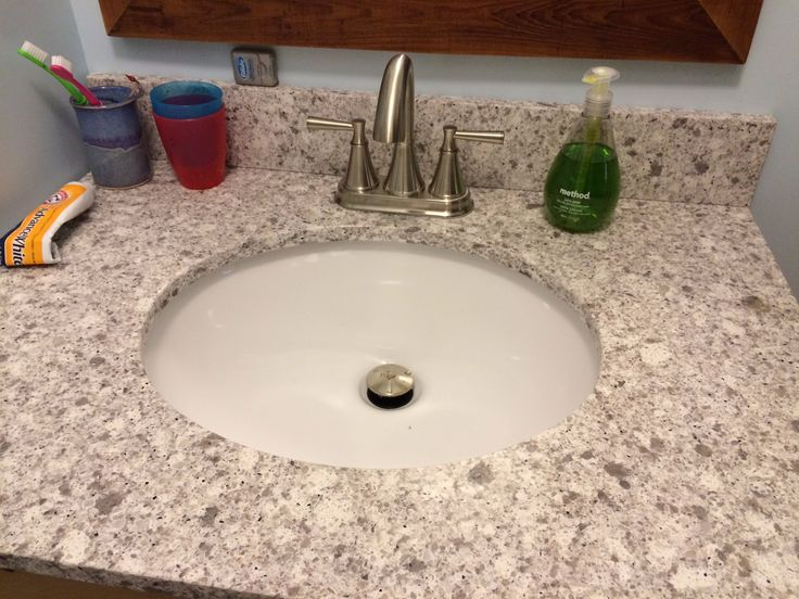Caesarstone atlantic salt quartz vanity top bathroom remodel remix pinterest quartz vanity - Caesarstone sink kitchen ...