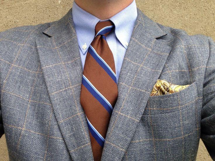 Grey/Brown/Blue