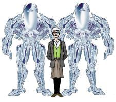 Doctor Silver and Exobots by davidwpaul