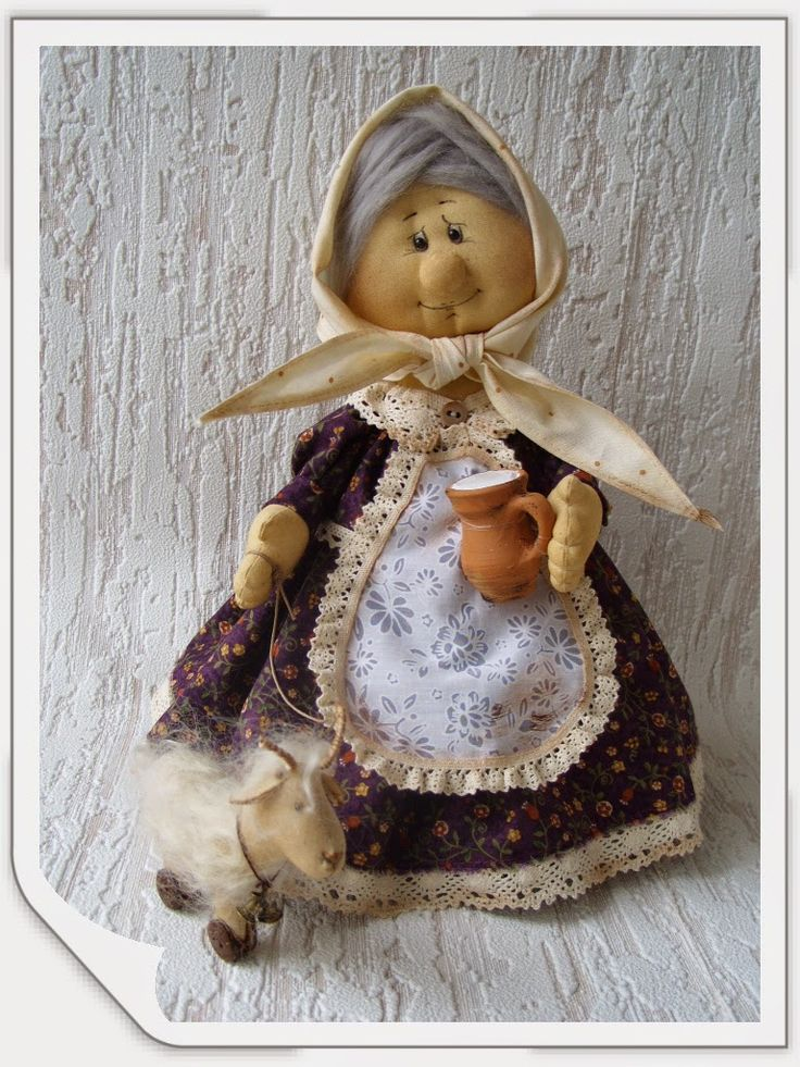 HandMade - уникальные подарки ручной работы:      Баба маня и коза Зорька <!--more-->   ...