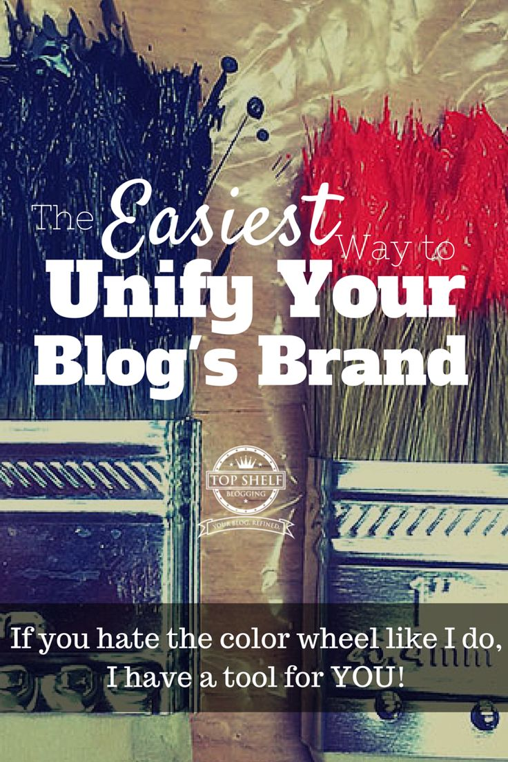 If you struggle to find colors that will work for your brand or blog, check out this amazing tool I use all the time. Bring your blog brand together by finding the right palette for your platform moving forward.