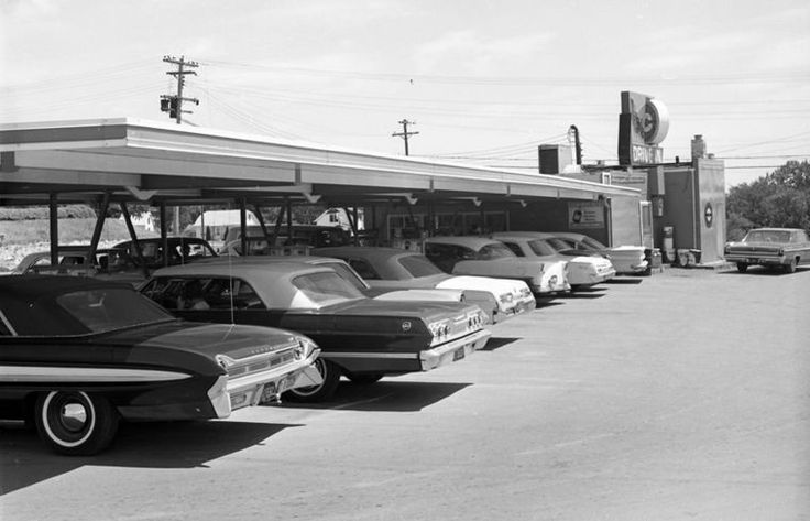 Old drivein photos uncovered union park traveling by
