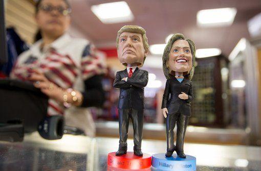 Ob Hillary Clinton die nächste Präsidentin der Vereinigten Staaten wird, oder Donald Trump der 45. Präsident der USA wird: Das entscheidet nicht die Wahl am 8. November. Foto: dpa