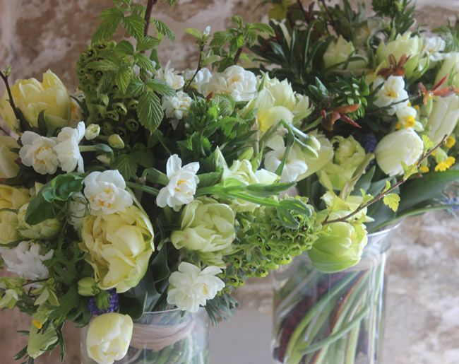 Hand-Tied bouquet of British flowers by Common Farm Flowers