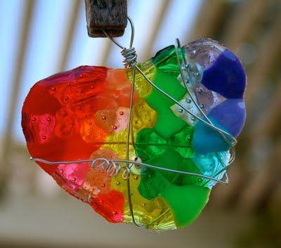 Melting beads - derretir cuentas de plástico!