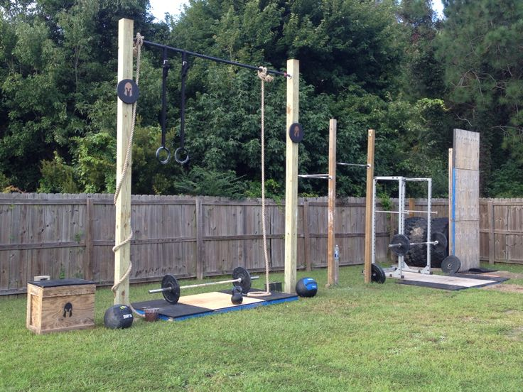 My Outdoor Pull Up/Rings/Rope Climbing Station | Outdoor Gym, Gym And Ring