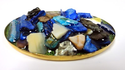Jewelry Resin can be used as a glue