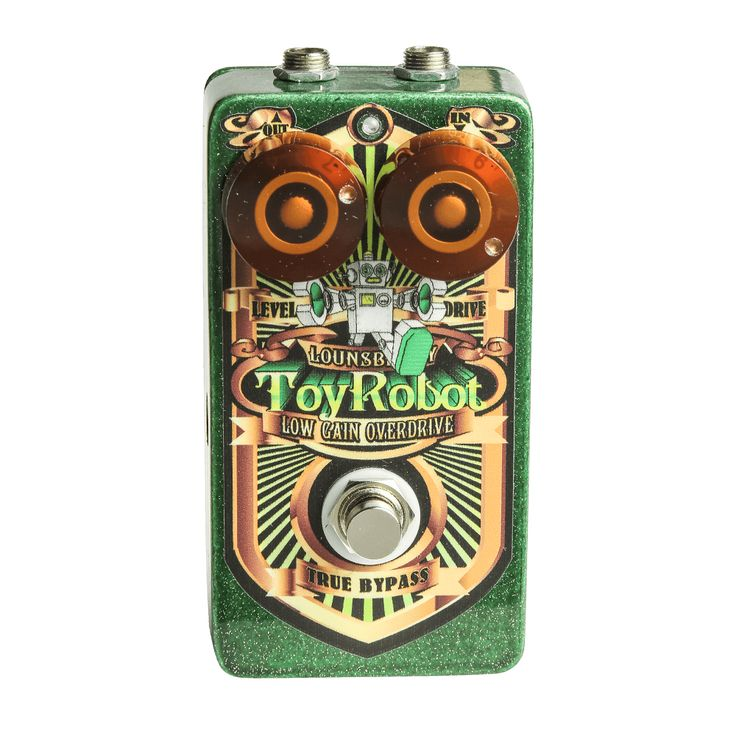Lounsberry Toy Robot Low Gain Overdrive