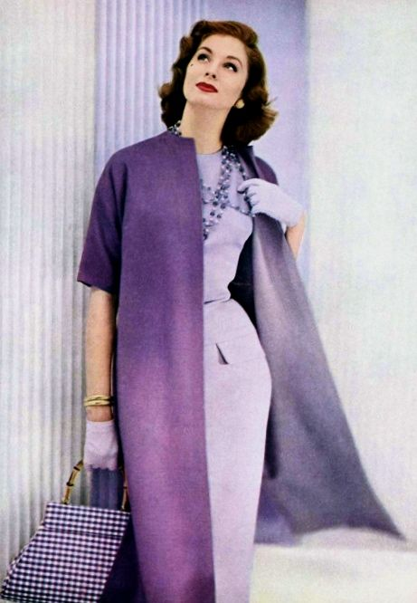 Suzy Parker, 1950s #vintagefashion #vintage #fashion