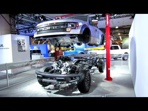 2012 Ford F-150 Raptor SVT Engine, Transmission, Suspension, Steering and Exhaust walk around - YouTube