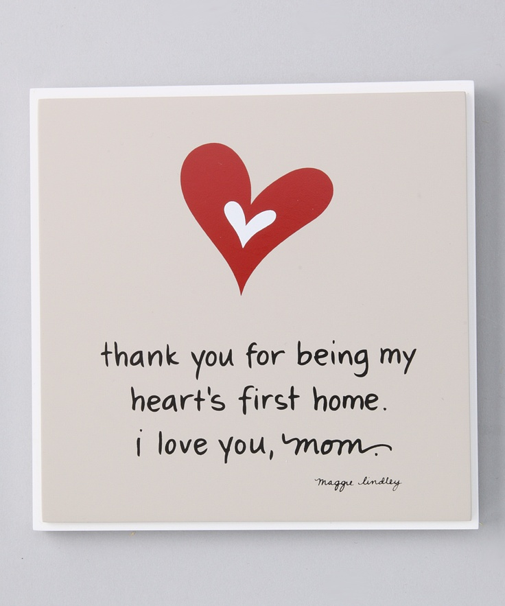 Love You Thank You Quotes: Makes Me Tear Up!