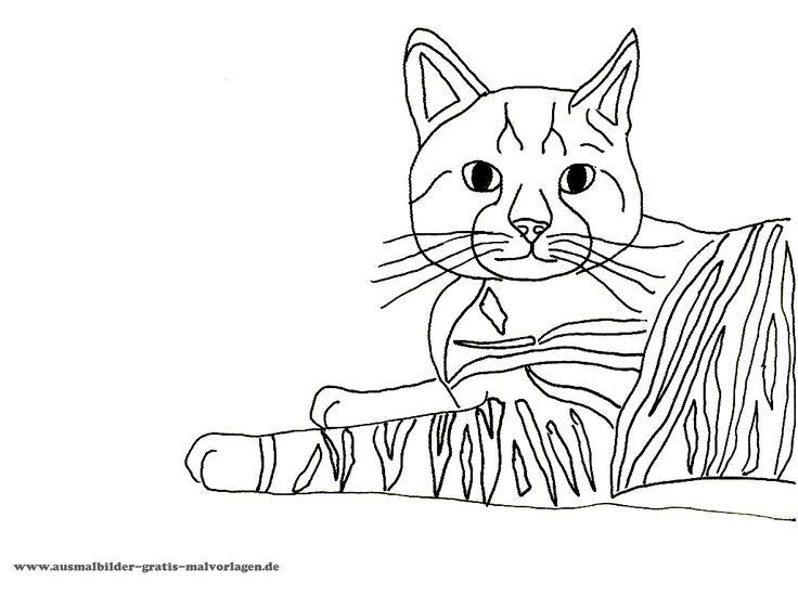 ausmalbild  ausmalen ausmalbild ausmalbilder katzen