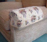 sofa arm covers protectors   ANTIMACASSAR BESPOKE SOFA/CHAIR ARM COVERS CAPS FOR IKEA EKTORP RANGE